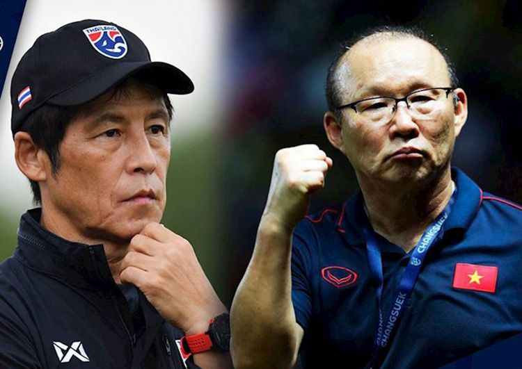 Thái Lan lo mất HLV Nhật Bản: Nhìn thầy Park mà... thèm!