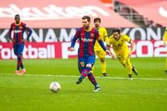 Messi lập công, Barca tuột chiến thắng phút chót