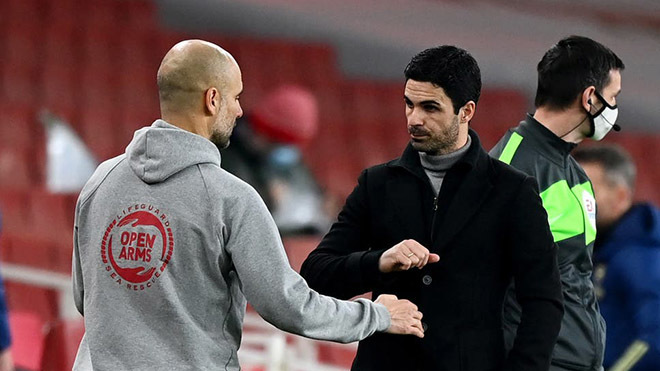 Man City hạ Arsenal, Pep Guardiola phớt kỷ lục, lo… bảo vệ Arteta