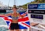 Cô gái trẻ nhất chèo thuyền vượt Đại Tây Dương