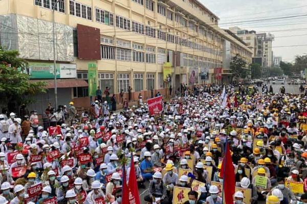 Myanmar sẽ tổ chức biểu tình 'lớn chưa từng thấy' sau đảo chính