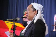 Con trai nguyên Phó Thủ tướng Trương Vĩnh Trọng xúc động nói lời tiễn biệt ba