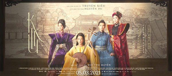 Actors gear up for 'Kieu' the movie premiere in March
