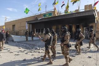 Mỹ 'phẫn nộ' vì đại sứ quán tại Iraq lại bị tên lửa tấn công