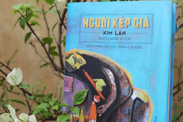 Họa sĩ Thành Chương minh họa cho truyện ngắn của Kim Lân
