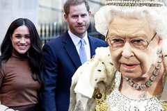 Nữ hoàng Anh không để cặp đôi Harry-Meghan 'chiếm sóng' trên truyền hình