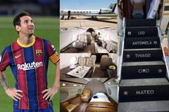 Tổng thống Argentina thuê máy bay của Messi
