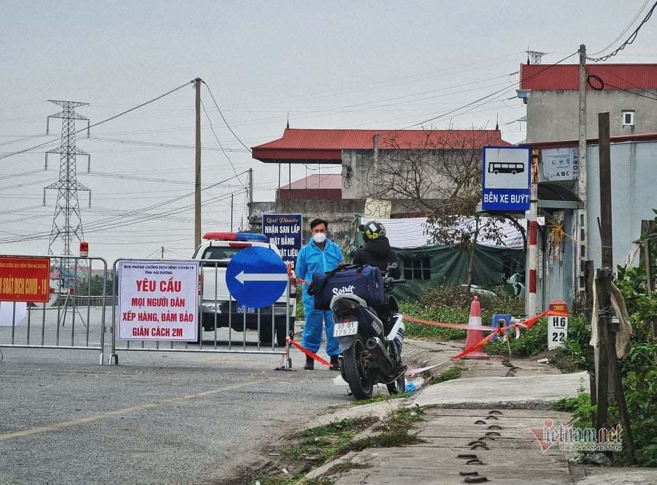Nông sản từ Hải Dương vào Bắc Ninh: Hàng đi, người ở lại
