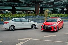 Toyota Vios 2021 bán tại Việt Nam thua kém bản Thái Lan