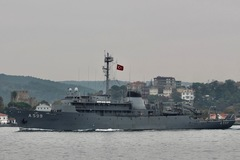 Hy Lạp bị tố điều chiến cơ quấy rối tàuhải quân Thổ Nhĩ Kỳ