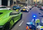 Dàn siêu xe bị cảnh sát Hong Kong bắt giữ vì đua xe trái phép