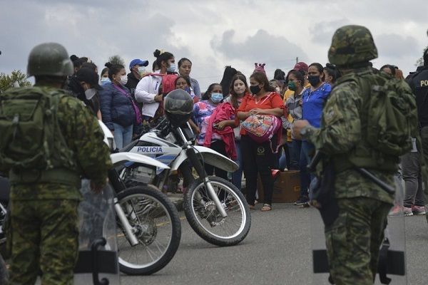 Bạo động nhà tù nổ ra ở Ecuador, hàng chục người thiệt mạng