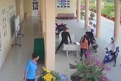 Diễn biến mới vụ người lạ vào tận trường lôi học sinh ra ngoài đánh