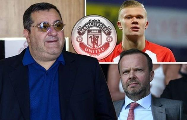 Mino Raiola tiết lộ 4 CLB Premier League có thể ký Haaland