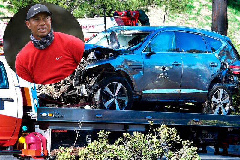 Tiger Woods và những sao thể thao từng gặp tai nạn xe hơi