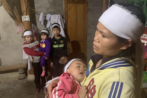 Bố gặp nạn tử vong giữa Tết, 4 đứa trẻ bơ vơ