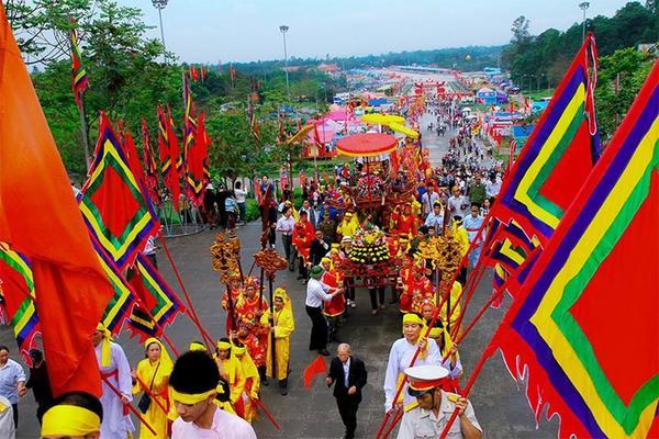 Giỗ Tổ Hùng Vương 10/3 năm nay chỉ tổ chức phần lễ