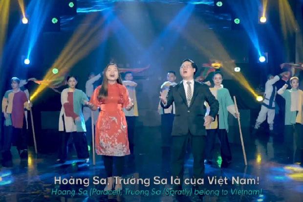 """Du học sinh Việt tại Hàn Quốc làm MV """"Hoàng Sa, Trường Sa là của Việt Nam"""""""