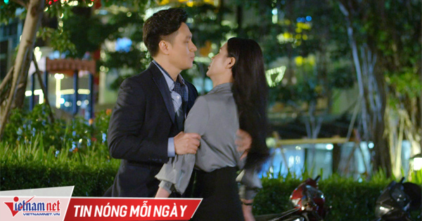Hậu trường cảnh Việt Anh hôn Lương Thu Trang 'Hướng dương ngược nắng'