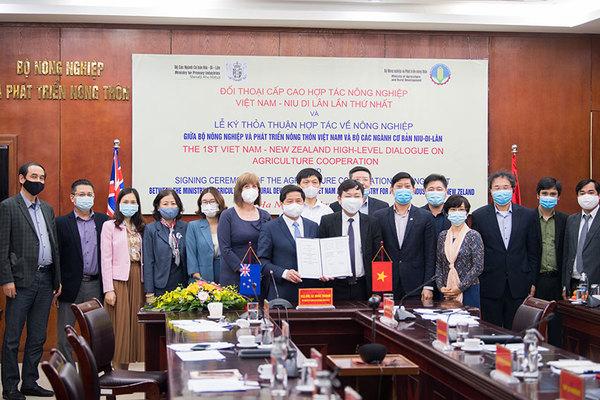 New Zealand và Việt Nam đẩy mạnh hợp tác nông nghiệp