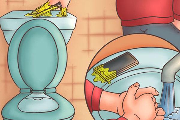 Vì sao chúng ta không nên dùng điện thoại trong toilet?