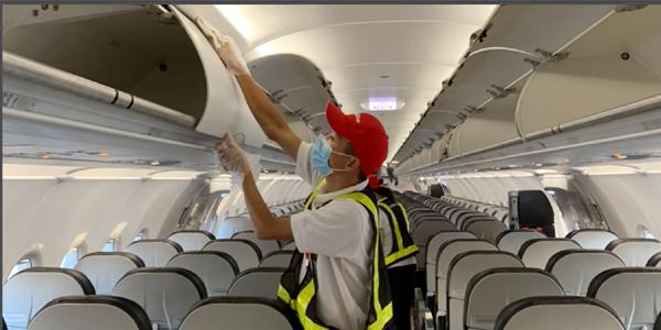Hệ thống lọc HEPA giúp không khí trên máy bay an toàn hơn văn phòng