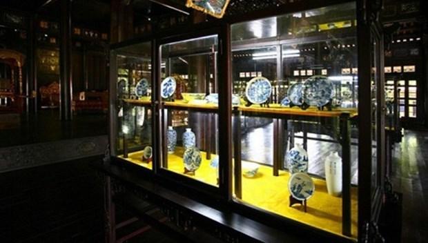 Hue museum displays King Minh Mang's artifacts