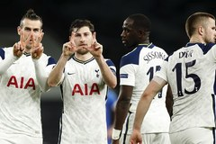 Bale ghi bàn, Tottenham vào vòng 1/8 với tổng tỷ số 8-1
