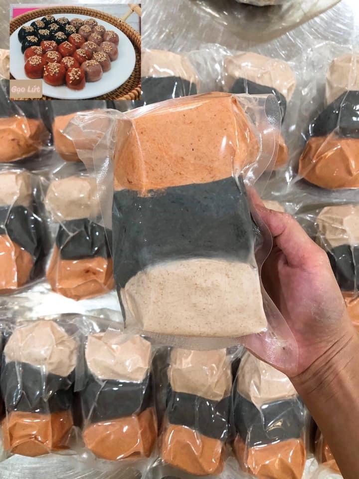 Bánh trôi gạo lứt, hàng chay giá chát ngày Rằm ăn kiêng