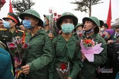 Bộ Quốc phòng: Lễ giao nhận quân nghĩa vụ không quá 20 phút