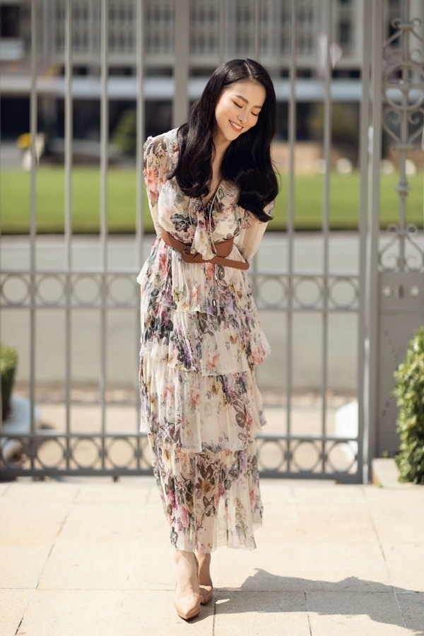 Hoa hậu Phương Khánh tái xuất sau thời gian 'mất tích' showbiz