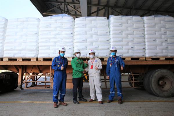 Lọc hóa dầu Bình Sơn xuất bán 250 tấn hạt nhựa T3045 đầu tiên