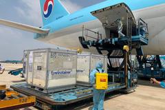 Lý giải vì sao vắc-xin Anh tới Việt Nam bằng máy bay Hàn Quốc