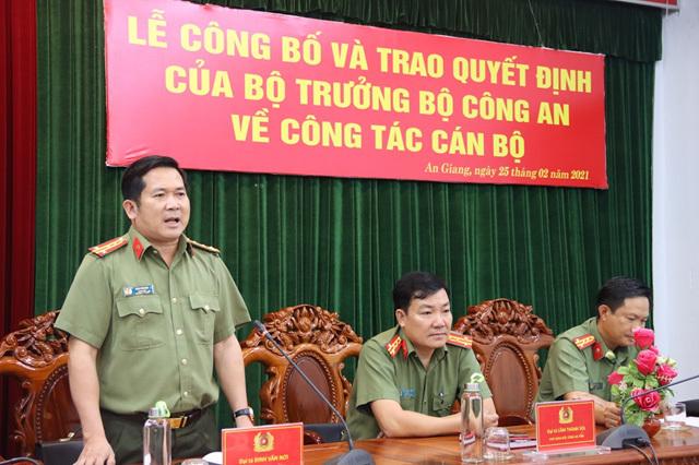 Thượng tá Lê Phú Thạnh làm Phó Giám đốc Công an An Giang