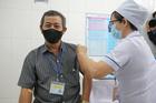 Cận cảnh tiêm thử nghiệm vắc xin Nanocovax cho 38 người ở Long An