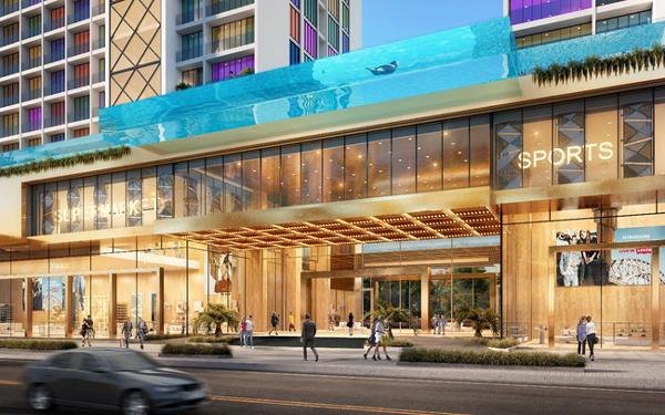 Sky Realty phân phối độc quyền shop khối đế khách sạn 6 sao ở Quảng Bình