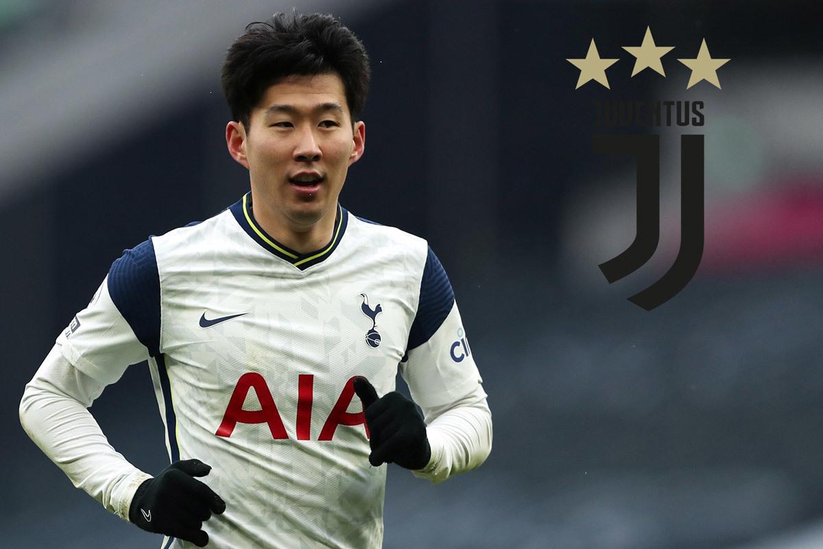 Juventus mua Son Heung Min thay Ronaldo