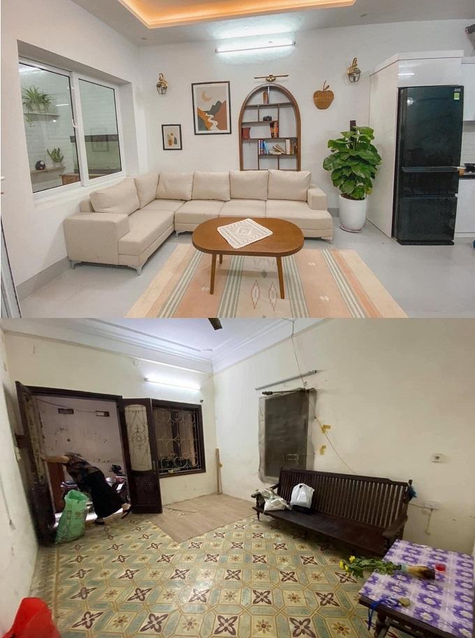 Sự thay đổi ngoạn mục của căn nhà cũ xây từ thập niên 90
