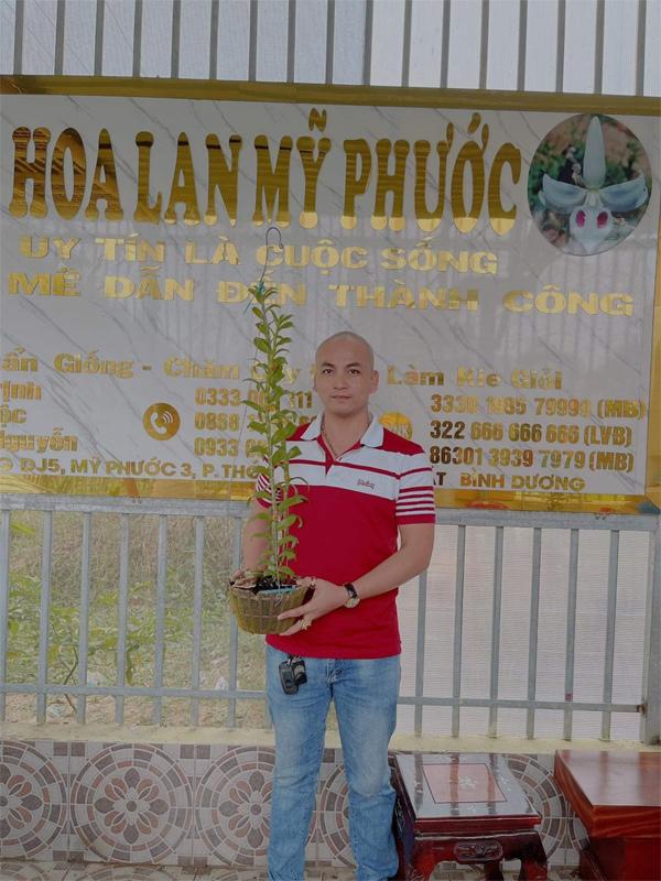 Giám đốc công ty bất động sản 'bén duyên' với nghề trồng lan