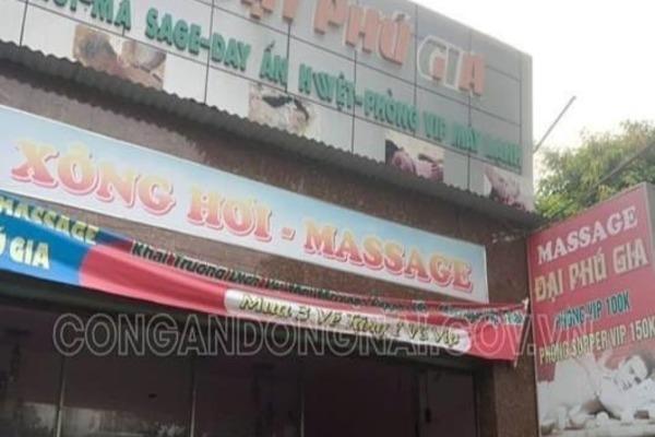 Nữ tiếp viên khỏa thân kích dục cho khách ở Biên Hòa