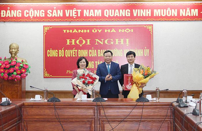 Hà Nội điều động, phân công bí thư nhiều quận, huyện, giám đốc sở