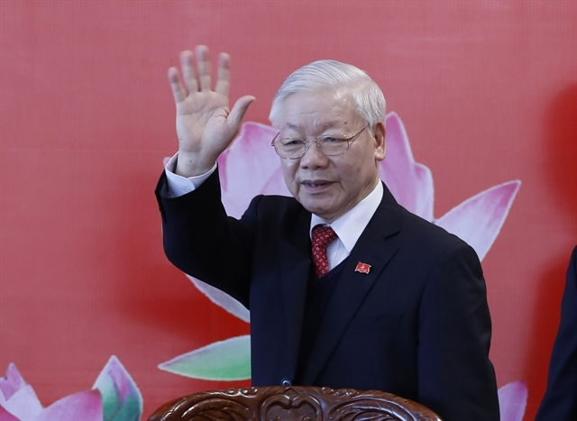 World leaders offer congratulations to Party General Secretary Nguyen Phu Trong's re-election