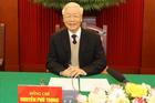 Bộ Chính trị gặp mặt thân mật các vị nguyên Ủy viên Bộ Chính trị, Ban Bí thư, Trung ương khóa XII