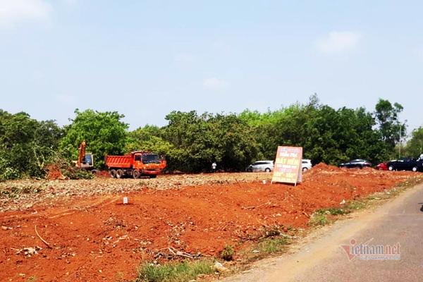 Sốt đất vùng quê Bình Phước vì quy hoạch sân bay, nông dân bỗng chốc thành 'cò' đất