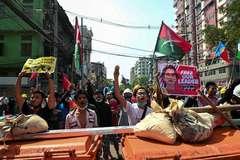 Myanmar mạnh tay trấn áp biểu tình, ít nhất hai người thiệt mạng