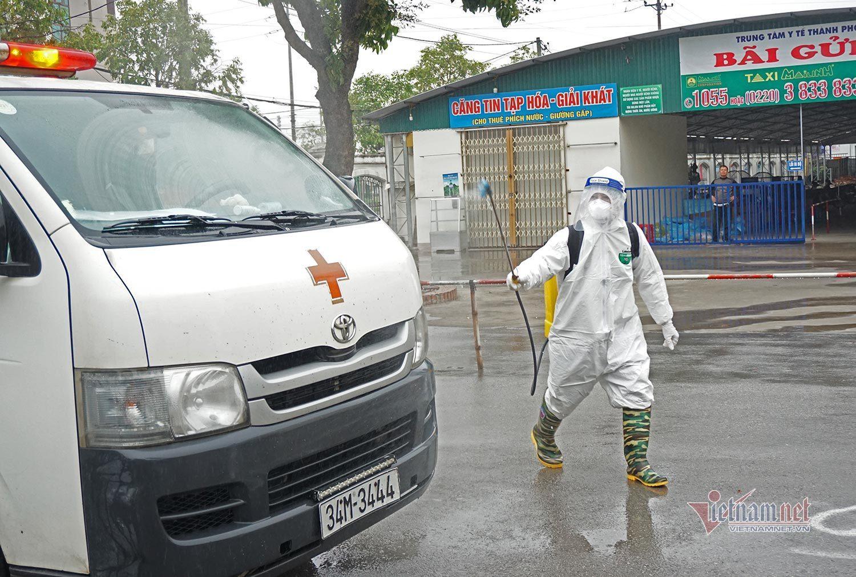 Những bệnh nhân cuối cùng rời khỏi Bệnh viện dã chiến số 1 Hải Dương
