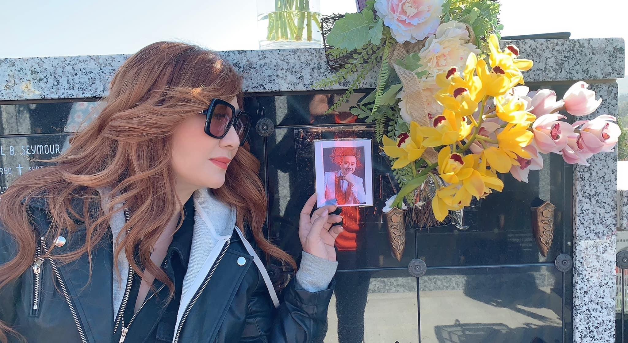 Phương Loan, Trizzie Phương Trinh thăm mộ Chí Tài nhân 100 ngày mất