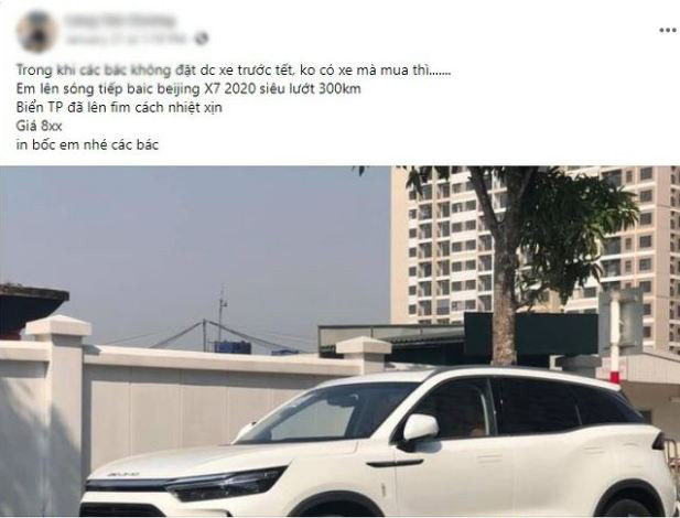 Nhiều chủ xe bán vội Beijing X7 chạy lướt, liệu có nên mua?