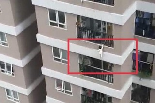 Three-year-old girl survived 13-storey fall