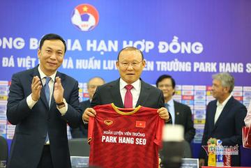 VFF đàm phán hợp đồng thầy Park: Chọn thành tích hay vươn tầm?